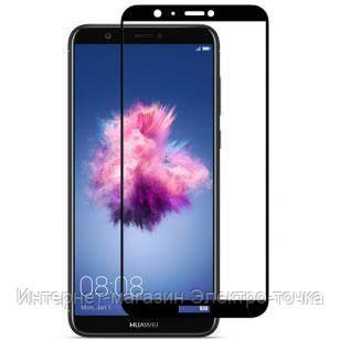 Защитное стекло 3D Huawei P Smart черное