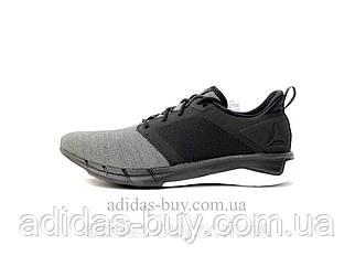 Мужские оригинал кеды кроссовки REEBOK PRINT RUN 3.0 CN6232 цвет: черный/серый сезон весна-лето беговые