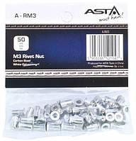 Заклепки резьбовые М3, 50 шт ASTA A-RM3