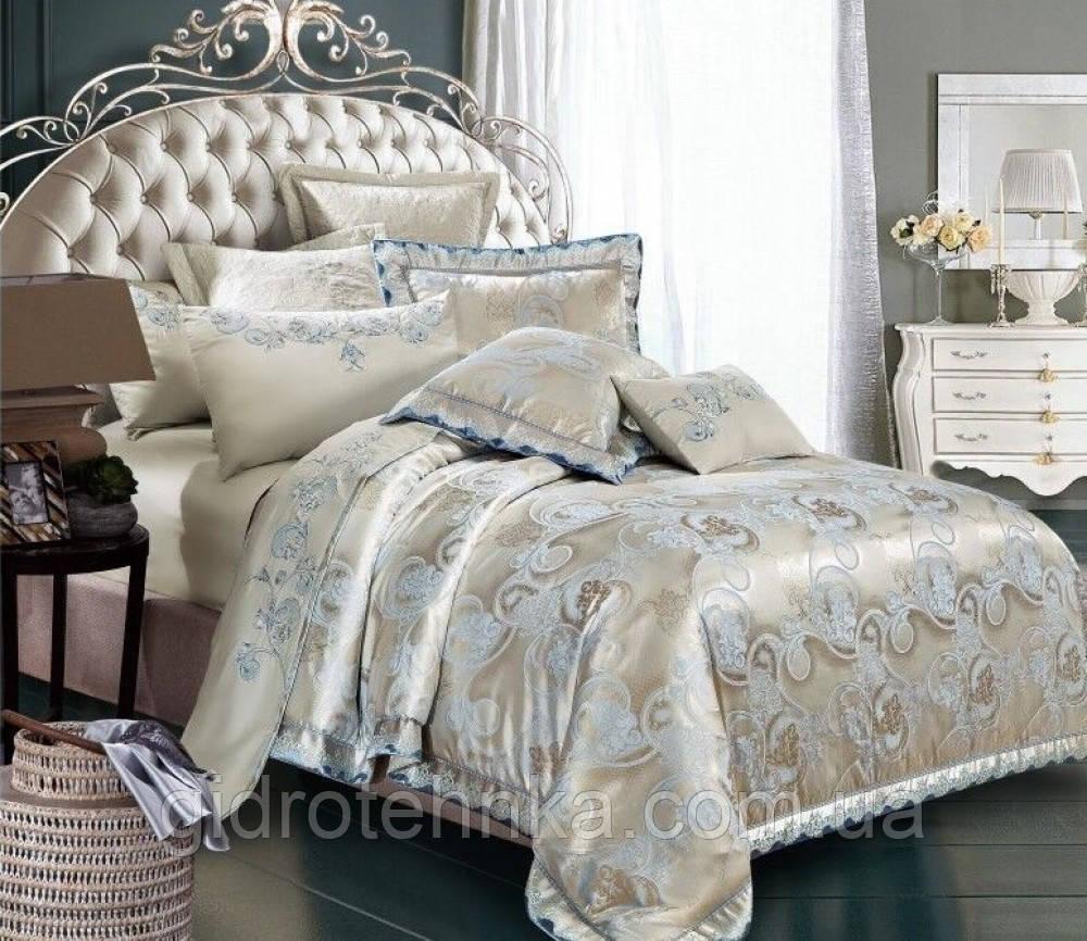 Жаккард сатин-элит.Семейный комплект постельного белья.100% хлопок