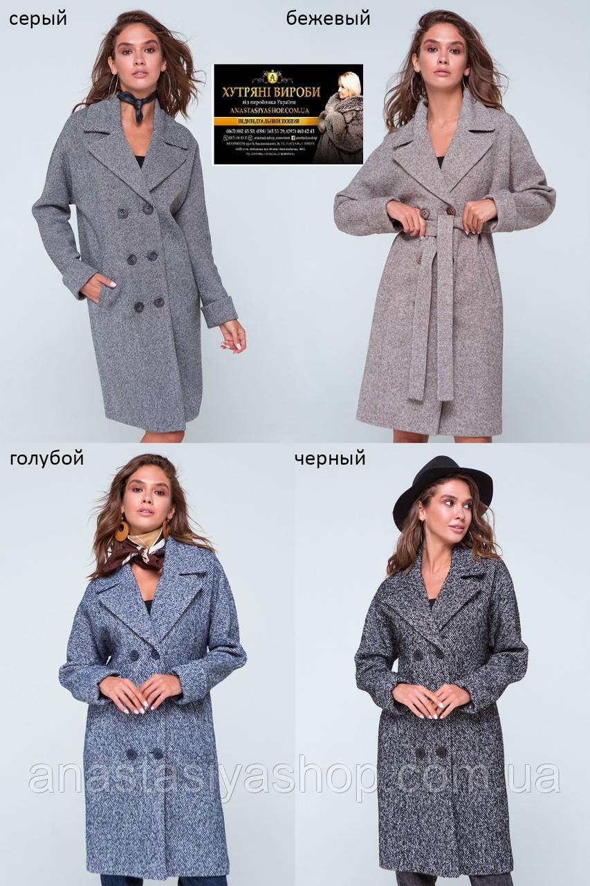 Классическое прямое пальто