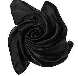 Платок 70*70 см черный