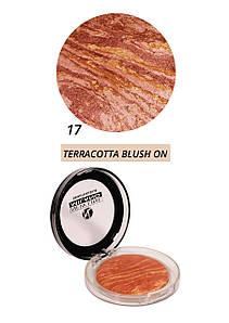 Терракотовые румяна - Terracotta blush-on  NewLine Milano