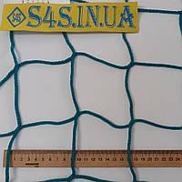 Спортсетка El Leon de Oro (Испания)D–3мм, ячейка–10см, безузловая, для ограждения спортивных площадок, зелёный, фото 1