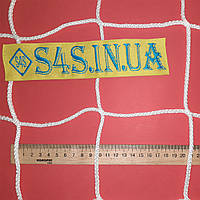 Сетка для защиты окон в спортзале безузловая испанская, полипропилен, D – 4 мм, ячейка – 12 см, белая, фото 1