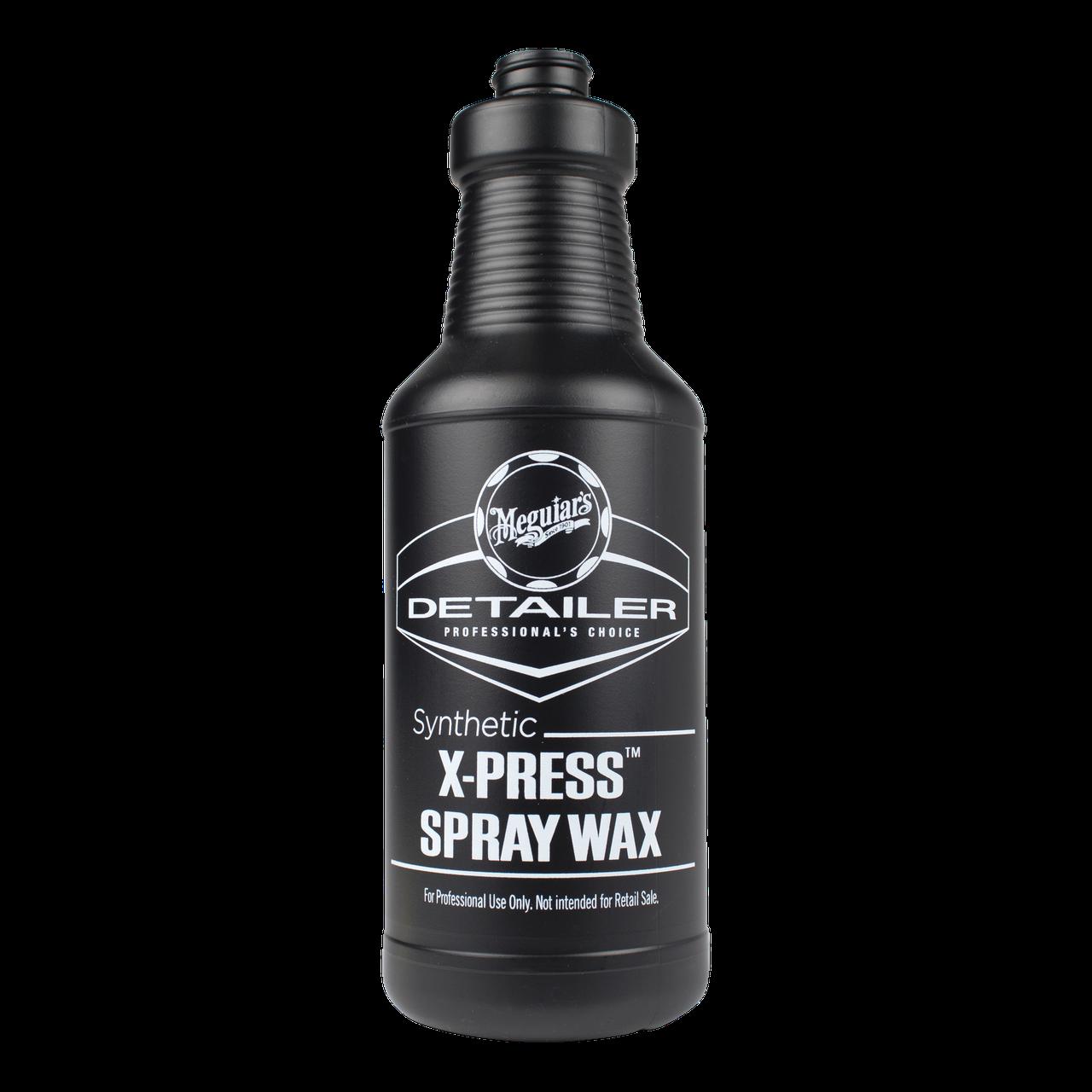 Емкость для жидкостей - Meguiar's Detailer Synthetic X-Press Spray Wax 945 мл. черная (D20156)