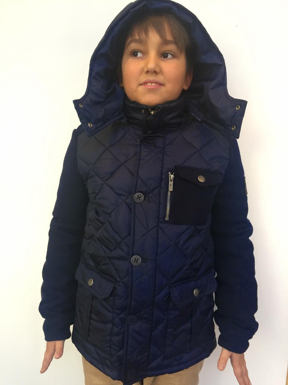 Детская куртка для мальчика JBE Италия 163BHAA001 Синий