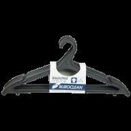 Плечики для одежды пластиковые Buroclean 5 шт чёрные