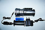 Фонарь-прожектор Police BL-T 801 ( 2x18650/T5/99000W ), фото 2