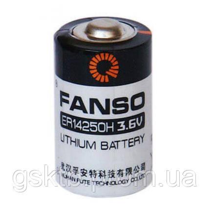 Литиевая батарея ER14250H, 1/2 AA Size 3,6В 1200 мАч, Li-SOCl2, фото 2
