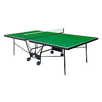 Теннисный стол для школы Compact Strong (зеленый)