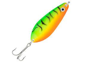 Блесна колебалка Kamasaki Spoon PIKE 20g Green Fish Holo