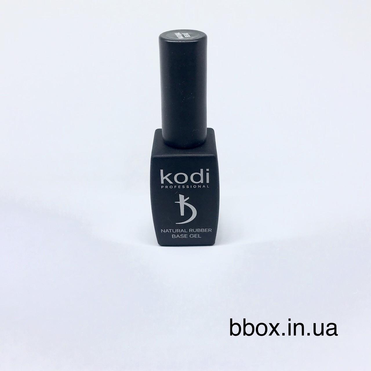 Kodi Base Rubber (Каучуковая основа камуфлирующая) для гель лака 12 мл