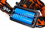 Налобный фонарь+ ультрафиолет Bailong Police WD-259 T6 ( WD-259/X33-2 ), фото 5