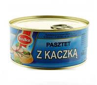 Паштет из утиного и куриного мяса EVRAMEAT 300 гр. Польша