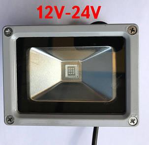 Светодиодный прожектор SL-10 10W 12-24V DC 6000К IP65 Код.59316, фото 2