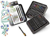 Набір гелевих ручок Crayola, Extra Fine Point, Металік та Блиск ( B072856BNX )