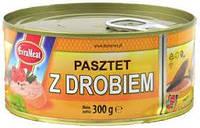 Паштет куриный EVRAMEAT 300 гр. Польша