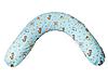 """Подушка для беременных и кормления """"Classik"""", африка на голубом"""