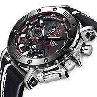 Мужские наручные часы LIGE 9899 - Серебро