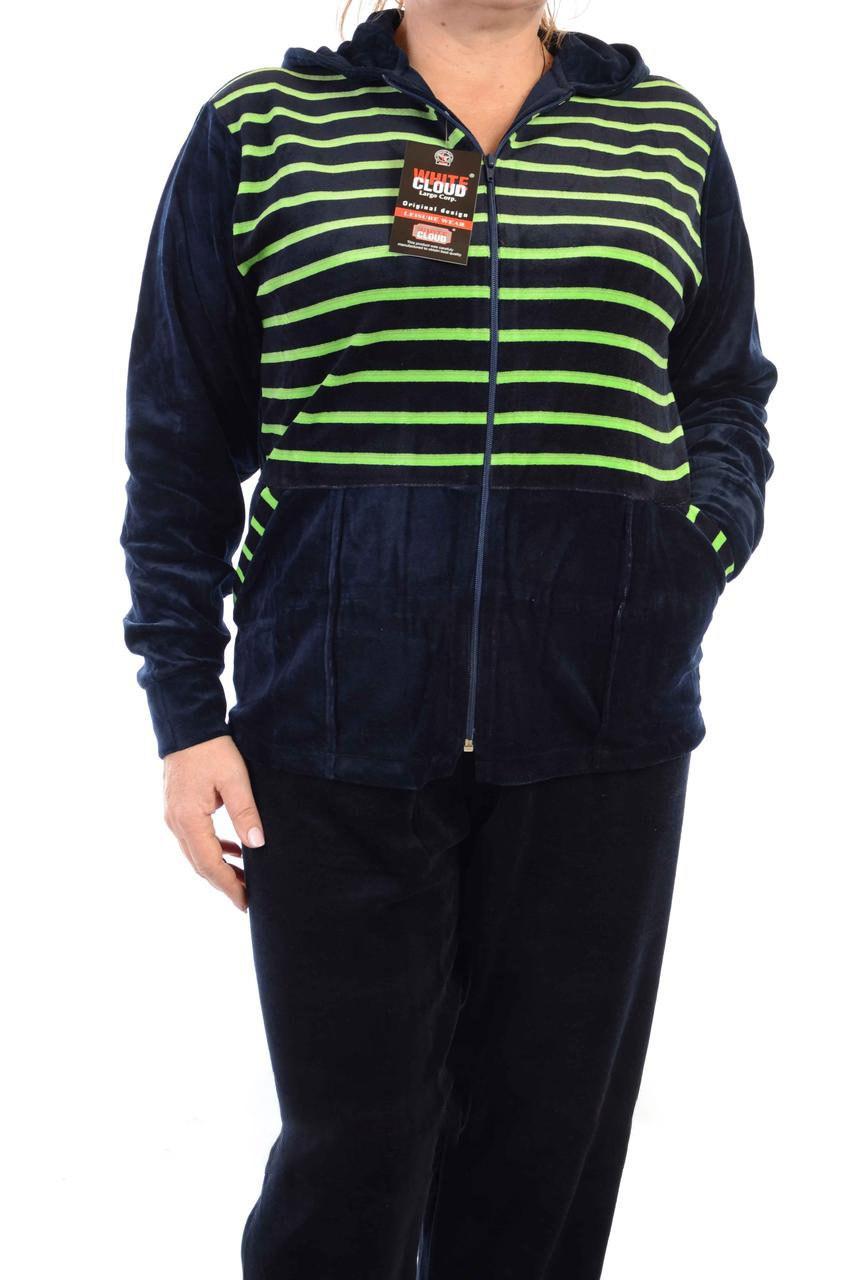 Велюровый спортивный костюм K101-8