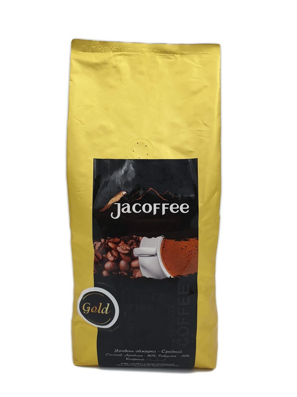"Кофе в зернах ТМ ""Jacoffee"" Gold 80/20, 1кг"
