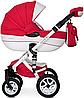 Детская универсальная коляска 2 в 1 Riko Brano Ecco 20 Sport Red, фото 2