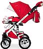 Детская универсальная коляска 2 в 1 Riko Brano Ecco 20 Sport Red, фото 4