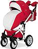 Детская универсальная коляска 2 в 1 Riko Brano Ecco 20 Sport Red, фото 6