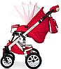 Детская универсальная коляска 2 в 1 Riko Brano Ecco 20 Sport Red, фото 7