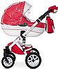 Детская универсальная коляска 2 в 1 Riko Brano Ecco 20 Sport Red, фото 9