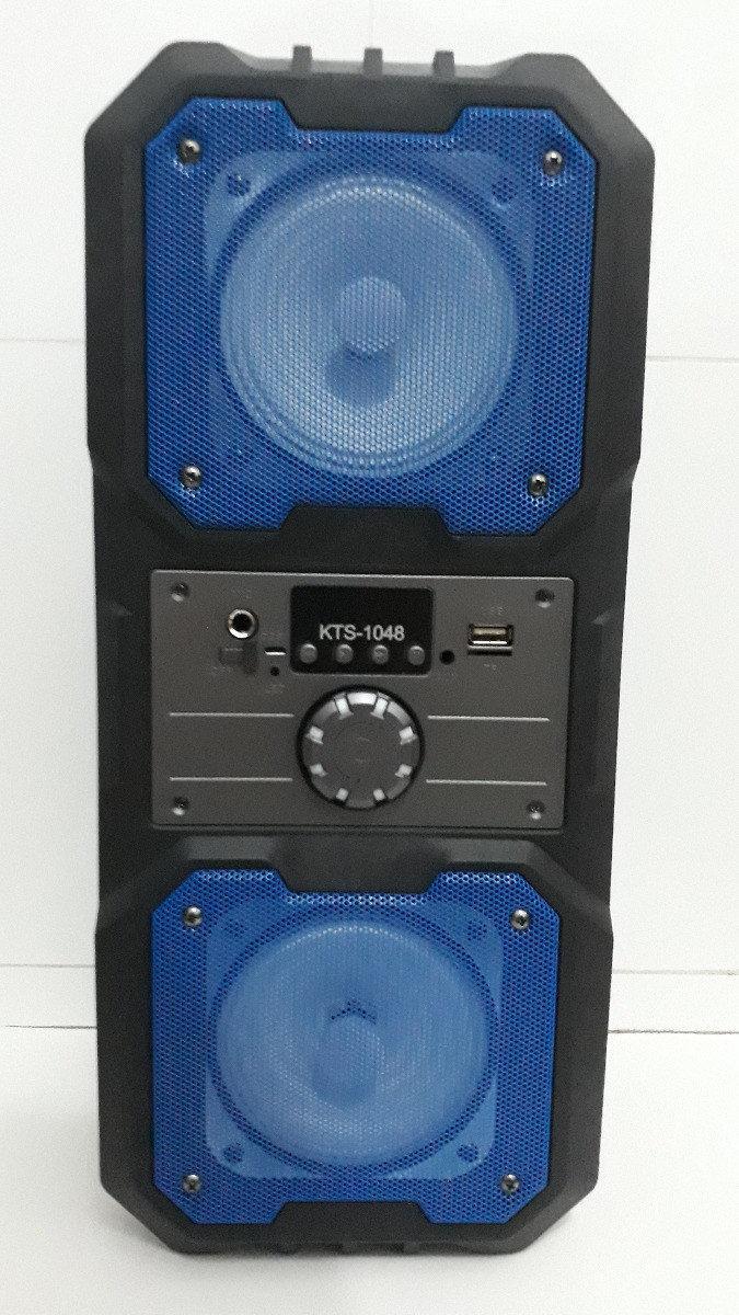 Портативна Bluetooth колонка KTS-1048, синя