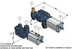 "Гидравлический клапан Hyva HT-TNK/SAE-1150-250-P3/4"", фото 2"