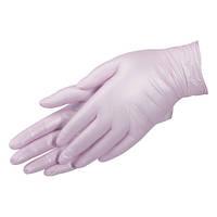 Перчатки Перламутровые нежно-розовые Нитриловые неопудренные 100 шт