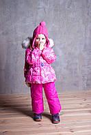 Детский полукомбинезон для девочки Верхняя одежда для девочек POIVRE BLANC Франция 246611-2143736 Розовый