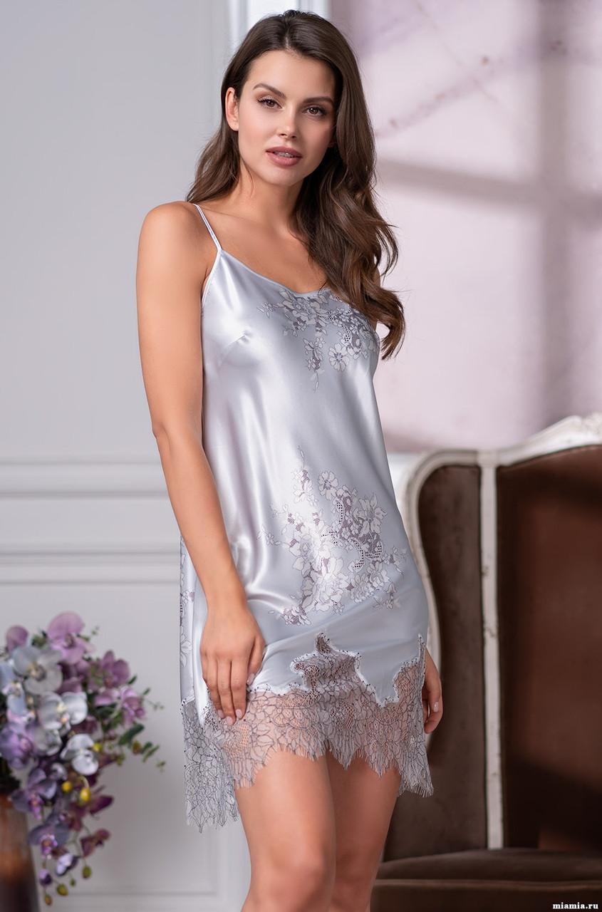 Ночная рубашка из натурального шелка! Mia-Mia KELLY 3570
