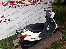 Скутер Suzuki Lets 5 (білий) з Японії, фото 2
