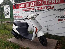 Скутер Suzuki Lets 5 (білий) з Японії, фото 3