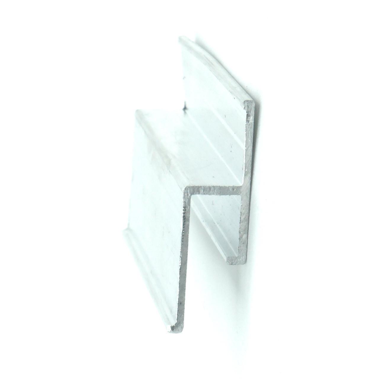 Профиль алюминиевый для натяжных потолков - Безвставочный. Длина профиля 2,5 м.