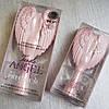 Расческа-ангел компактная, розовая Tangle Angel Cherub Brush Pink оригінал міні версія, фото 3