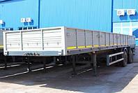 Бортовой полуприцеп МАЗ-931010-2011 без тента