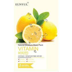 Зволожуюча вітамінна тканинна маска Eunyul Natural Moisture mask pack Vitamin