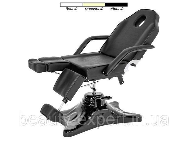 Кресло - кушетка педикюрно-косметологическая на гидравлике мод.234-1