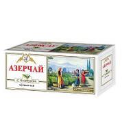 Чай Азерчай черный с чабрецом в пакетах 25 шт  50гр