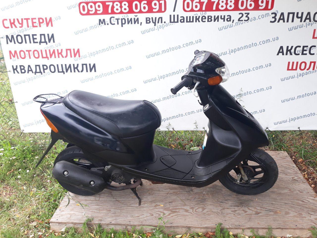Suzuki Lets 2/3 бабочка (чорний)