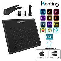 Kenting K5540 графический планшет под Windows \ mac OS \ OSU + перо + перчатка