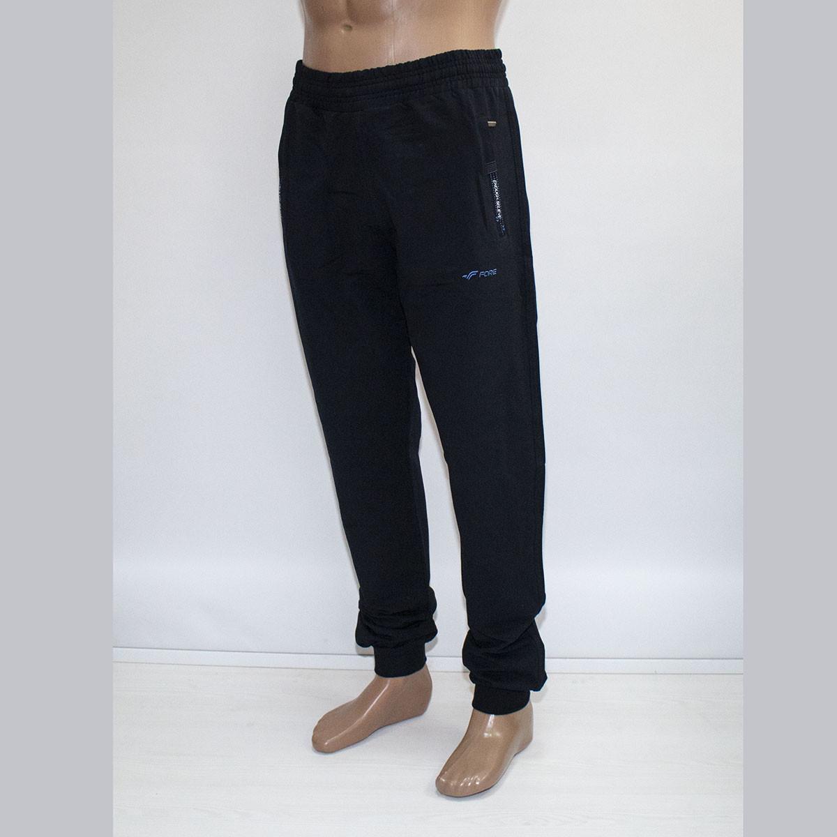 Мужские спортивные штаны на манжете M-3XL фабрика Турция тм. FORE 9610N