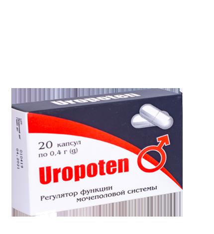 Средство Uropoten (Уропотен) от простатита