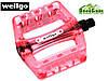 """Педалі Wellgo B107P КБ-0548 9/16"""" пластик малинові, фото 2"""