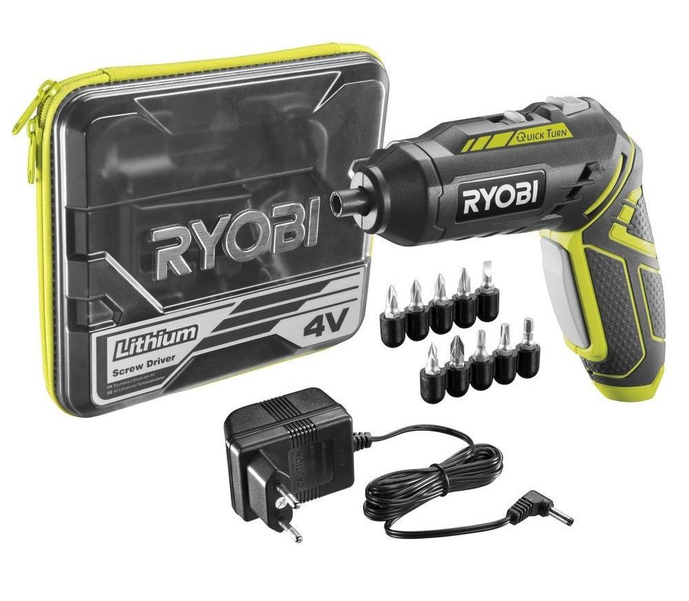 Аккумуляторная отвертка Ryobi R4SDP-L13C